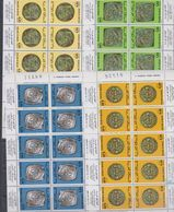 Maroc N° 746 F / 49 F XX Anciennes Monnaies Marocaines Les 4 Feuilles De 5 Paires Tête-bêche, Sans Charnière, TB - Marocco (1956-...)