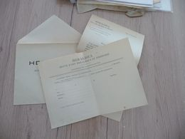 Heradica Revue D'Art D'Art Héraldique Ensemble 3 Documents Pub Information - Werbung