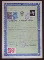 Yugoslavia 1959 Local Revenue Stamp NOVI SAD On Document BZ7 - Covers & Documents