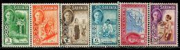 DK1215 Sarawak 1950 George VI Map Monkey Aboriginal 6 Old And New Mixed MNH - Briefmarken