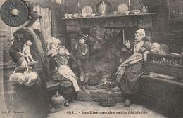 29 - Carte Postale Ancienne En Bretagne   Les Etrennes Des Petits Déshérités - People