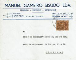 MANUEL GAMEIRO SISUDO , Figueira Da Foz ,  1972 , Medieval Knigth Stamp - 1910-... République