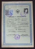 Yugoslavia 1959 Local Revenue Stamp KRAGUJEVAC On Document BZ20 - Covers & Documents