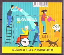 Slovenia 2020 Help Blok MNH - Slovenia