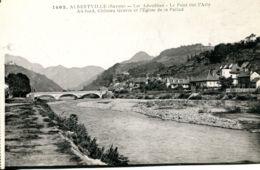 N°78978 -cpa Albertville -les Adoubbes- - Albertville