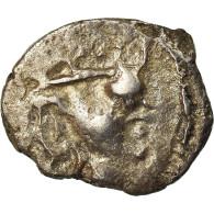 Monnaie, Śri Yashaaditya, Obole, 6EME SIECLE, Hunnic Tribes, TB, Argent - Oosterse Kunst