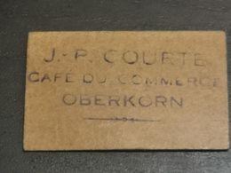 Luxembourg Jeton, Café Du Commerce J. P. Courte OBERKORN - Other