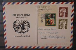Luftpost-Ganzsache 30 Jahre UNO, Wertstempel Gustav Heinemann - [5] Berlin