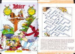 ASTERIX : Calendrier DE L'AVANT 2001 - Astérix