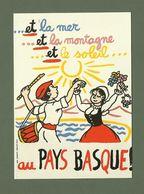 CARTE POSTALE JEAN EFFEL PAYS BASQUE PYRENEES ATLANTIQUE 64 - Francia