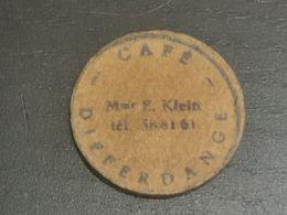 Luxembourg Jeton, Café Mme E. Klein Differdange - Fichas Y Medallas