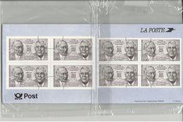 France 1988 EMISSION COMMUNE  - FRANCE YT 2501 -  ALLEMAGNE  YT 1183 - DE GAULLE ADENAUER  - SOUS BLISTER - Joint Issues