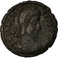 Monnaie, Constance II, Nummus, Siscia, TTB, Cuivre - 7. The Christian Empire (307 AD Tot 363 AD)