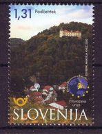 Slovenia 2020 EU Podcetrtek MNH - Slovenia