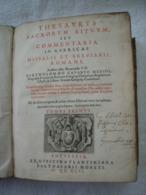 Missel Et Bréviaire Romain. Bartholomé Gavanti. Imprimé En 1646 à Anvers Chez Ex Plantin, Balthasar Moretus - Boeken, Tijdschriften, Stripverhalen