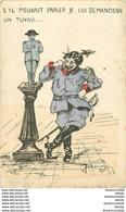 WW Guerre Militaires Poilus Soldats Patriotiques. Prussien Et Napoléon Par Un Illustrateur - Guerre 1914-18