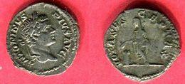 CARACALLA DENIER  ( C 6902 ) TB+ 42 - 4. The Severans (193 AD Tot 235 AD)