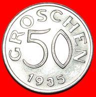 · DOUBLE DENOMINATION (1935-1936): AUSTRIA ★ 50 GROSCHEN 1935! LOW START ★ NO RESERVE! - Austria