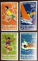 Grenadines Of St Vincent 1979 Sport MNH - St.Vincent & Grenadines