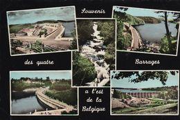 Gileppe Souvenir Des Quatre Barrages A L Est De La Belgique - Gruss Aus.../ Gruesse Aus...