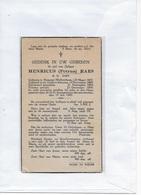 15-HENRICUS PETRUS RAES-ROSSEM-BORNEM--PRIESTER*PASTOOR - Andachtsbilder