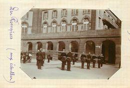 METZ  - Pompiers, Aux échelles, 30 Avril 1893 (photo Format 11,5cm X 8,4cm Environ). - Places