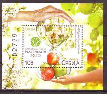 Serbia 2020 International Of Plant Health Blok MNH - Serbia