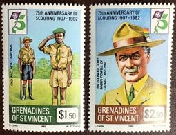 Grenadines Of St Vincent 1982 Scouts MNH - St.Vincent & Grenadines