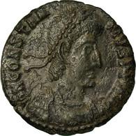 Monnaie, Constance II, Nummus, Siscia, TTB+, Cuivre - 7. The Christian Empire (307 AD Tot 363 AD)