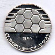 BULGARIA, 25 Leva, Silver, Year 1990, KM #192 - Bulgaria