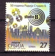 Serbia 2020 50 Y. RADIO STUDIO B MNH - Serbia