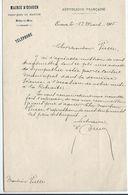 Mairie D'ECOUEN (95) - Lettre écrite Par Le Maire En 1905 - (Objet D'une Mise à La Retraite) - Manoscritti