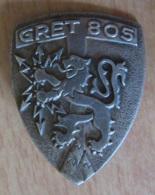 Insigne Militaire - GRET 805 - Groupement Régional D'Exploitation Des Trasnmissions - Métal - DRAGO - Heer