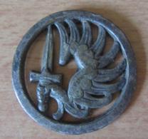 Insigne Militaire De Béret - Parachutistes - Métal - DRAGO - Army