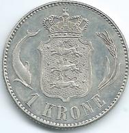 Denmark - Christian X - 1 Krone - 1915 - KM819 - Denmark