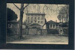 CPA 16 CONFOLENS Les Tilleuls Route D'Anzac - Confolens