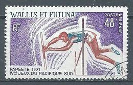 Wallis Et Futuna Poste Aérienne YT N°39 Jeux Du Pacifique Sud 1971 Saut à La Perche Oblitéré ° - Luftpost