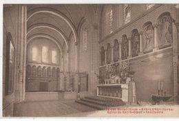 CORSE CPA  Abbaye Des Bénédictines -  ERBALUNGA - Eglise Du Sacré-Coeur - Sanctuaire - Francia