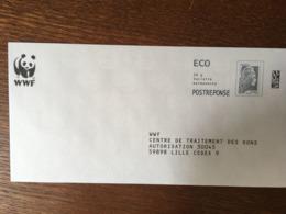 PAP REPONSE CIAPPA & KAVENA WWF 232083 - Biglietto Postale