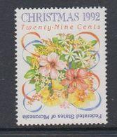 Micronesia 1992 Christmas 1v ** Mnh (47961) - Micronesia