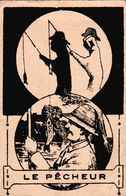 Vers 1900 Le Pêcheur En Ombre Chinoise (pharmacie De Paris à Nantes ) - Sonstige