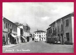 Carte Postale Moderne Italie - Annone Veneto - Via 4 Novembre - Altre Città