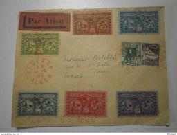 VOIR DESCRIPTION - Poste Aérienne, Liaison Aéropostale Alger-Tunis, Lot De Vignettes Semi-officielles 1930 - Algeria (1924-1962)