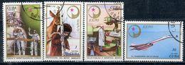 Y85 CUBA 1976 2150-2153 Expo, Havana, Soviet Science And Technology. Space. Aircraft. TU-144. Medicine - Medicine
