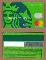 AC - STARBUCKS COFFEE PLASTIC CARD VALID THRU - 03/ 23 - Altri