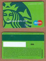 AC - STARBUCKS COFFEE PLASTIC CARD No # 696 VALID THRU - 12/ 17 - Altri