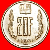 · CROWN: LUXEMBOURG ★ 20 FRANCS 1983! LOW START ★ NO RESERVE! - Luxembourg