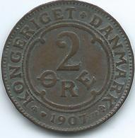 Denmark - Frederik VIII - 1907 - 2 Øre - KM805 - Denmark