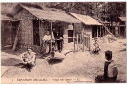 7202 - Paris - Exposition Coloniale - Village Indo-chinois - L.L. N°1 - - Ausstellungen