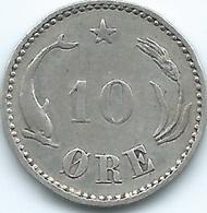 Denmark - Christian IX - 1905 - 10 Øre - KM795.2 - Denmark